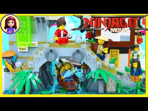 LEGO Ninjago City Build The Old World Level Review Kids Toys