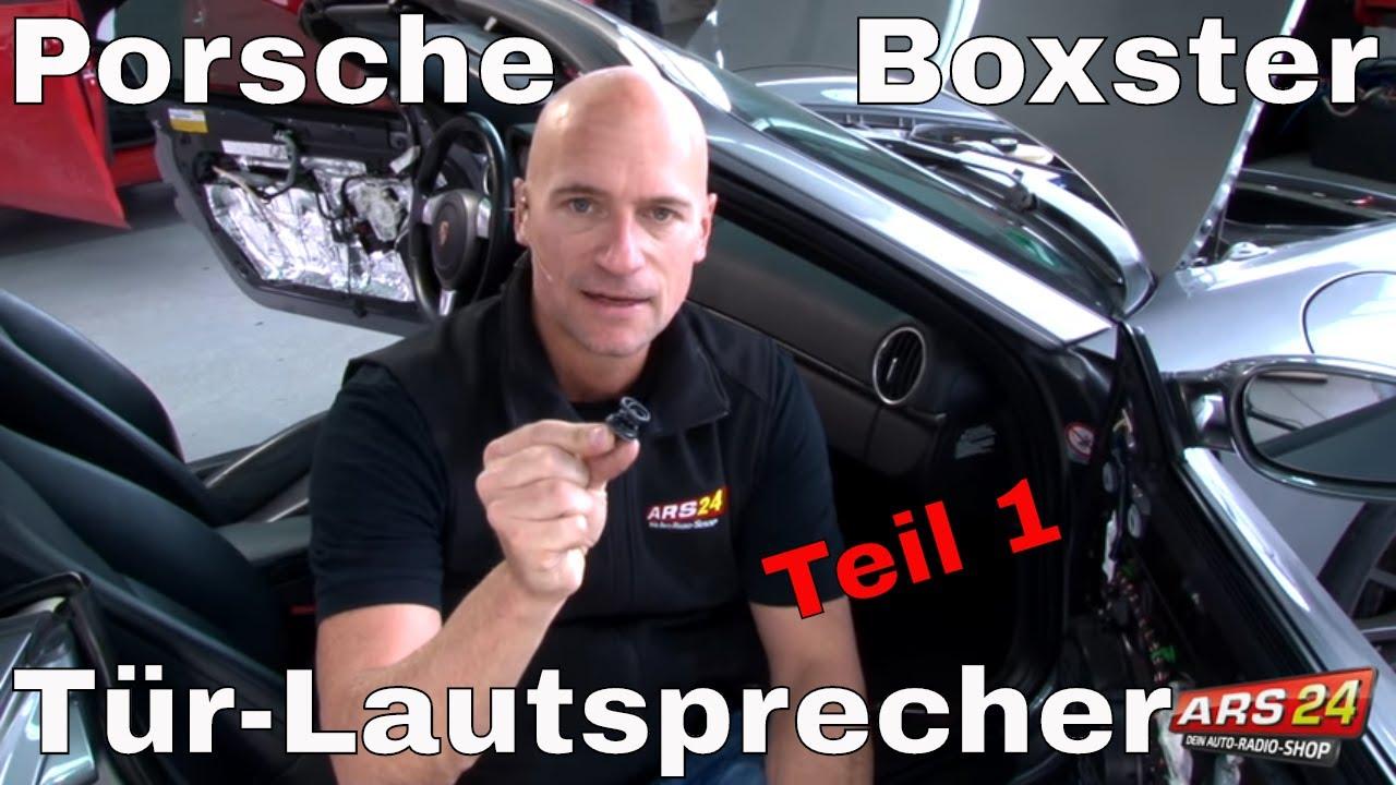 Tutorial über Türverkleidung ausbauen im Porsche Boxster ...