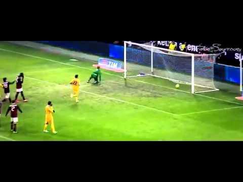 MARIO BALOTELLI- all 40 goal to ac milan 2014
