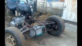 Самодельный квадроцикл Проект