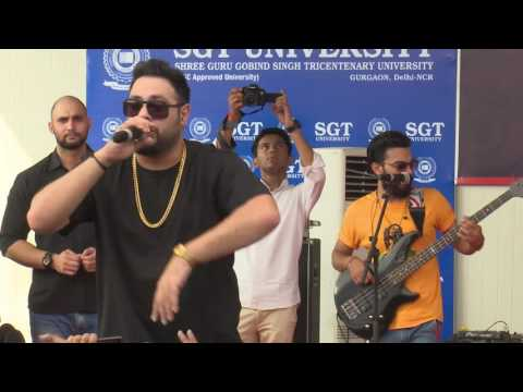 "Baby Ko Bass Pasand Hai Song""Badshah"" At SGT University"