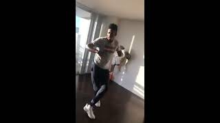 Jordan Bell Dances Again, This Time On His Instagram Livestream From His Oakland Apartment