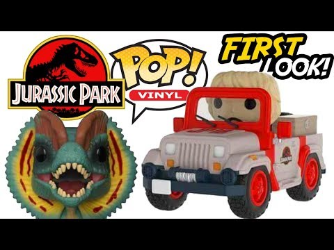 Jurassic Park FUNKO Pop! | FIRST Official Images