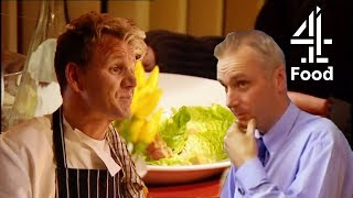 Restaurant Owner Complains About Ramsay's Salad Recipe | Ramsay's Kitchen Nightmares