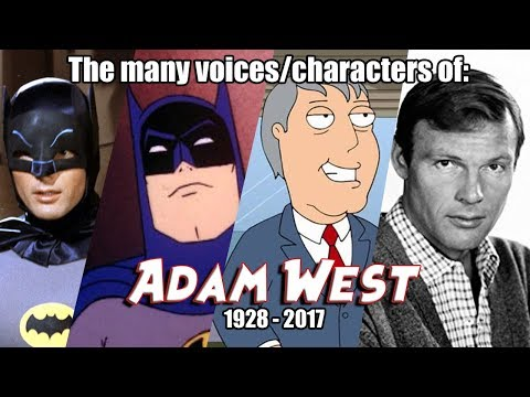 Many Voices of Adam West Animated Tribute  Batman '66  Family Guy  SuperFriends