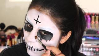 The Purge 2 Anarchy Halloween Makeup Tutorial