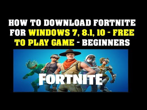 fortnite download pc free full version windows 7