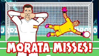 ?SPAIN OUT ON PENALTIES!? (Italy vs Spain Morata Elmo Penalty Shoot-Out Euro 2020 Goals Highlights)