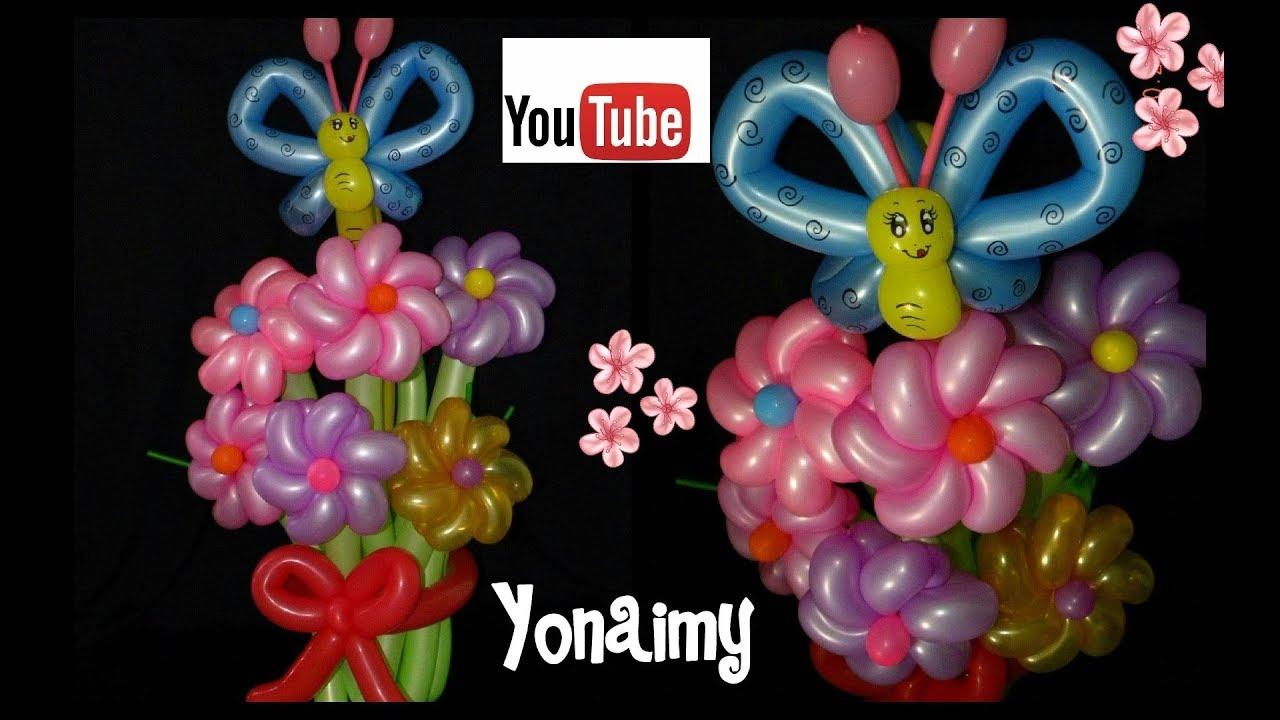 Como hacer un ramo de flores tipo rehilete bouquet of - Como hacer flores ...