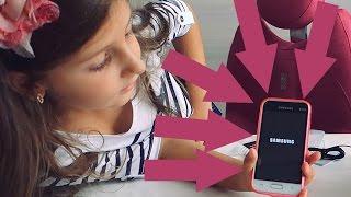 Распаковываем новый телефон для школы Гламурный розовый чехол для девочки(Купили к школе новый телефон Лизе. Пытался разыграть со старым телефоном, но не получилось. Бампер к телефон..., 2016-09-06T11:40:50.000Z)