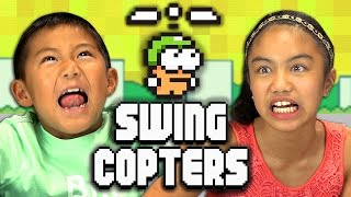 Repeat youtube video SWING COPTERS (Kids React: Gaming)