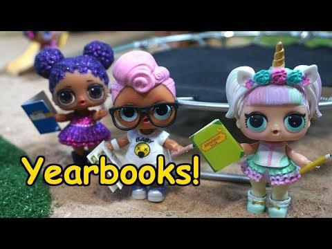 Lol Surprise Dolls Last Day Of School!