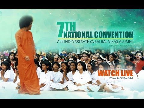 """Swami Vivekananda"" Drama By Sri Sathya Sai Balvikas Alumni, Delhi at Puttaparthi - 7 Jan 2017"