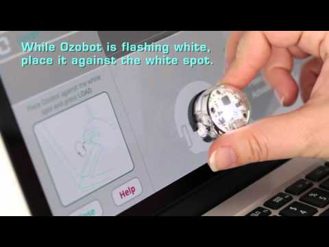 Learn to Code Getting started with OzoBlockly and Ozobot Bit robot