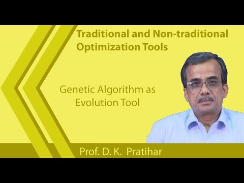 Lecture 37: Genetic Algorithm as Evolution Tool