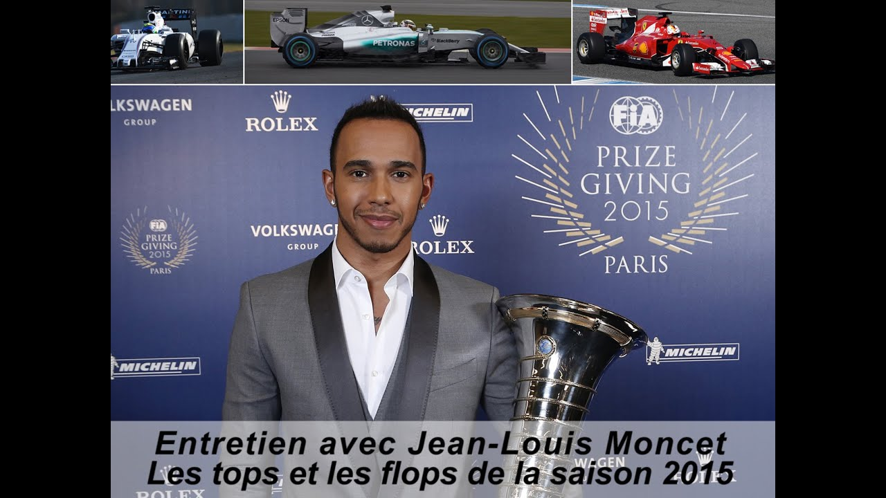 les tops et les flops de la saison de formule 1 2015 avec jean louis moncet youtube. Black Bedroom Furniture Sets. Home Design Ideas
