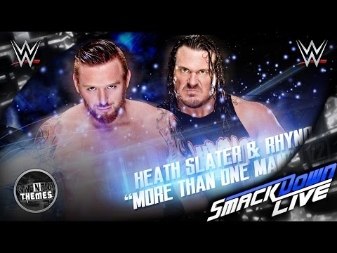 Heath Slater & Rhyno 1st WWE Theme Song...