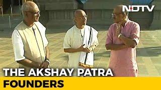 Video Walk The Talk With Founders Of Akshaya Patra download MP3, 3GP, MP4, WEBM, AVI, FLV Agustus 2017
