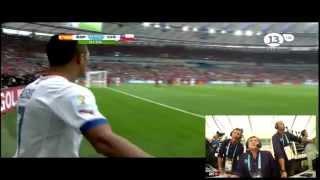 Chile 2 - 0 España (Relato Español)