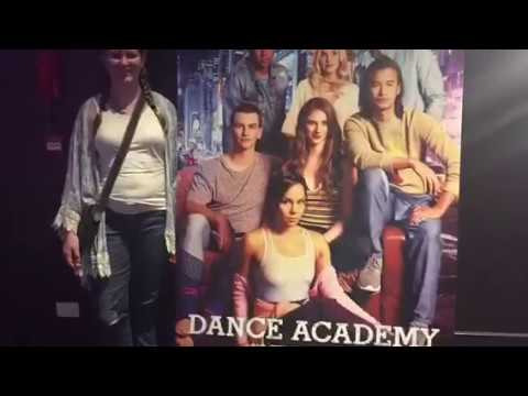 Went To Dance Academy Movie Premier