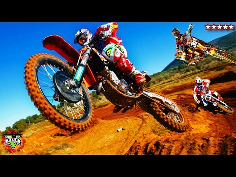 Extreme GTA 5 Motocross Championship! - GTA Bike Stunts & Races!!!
