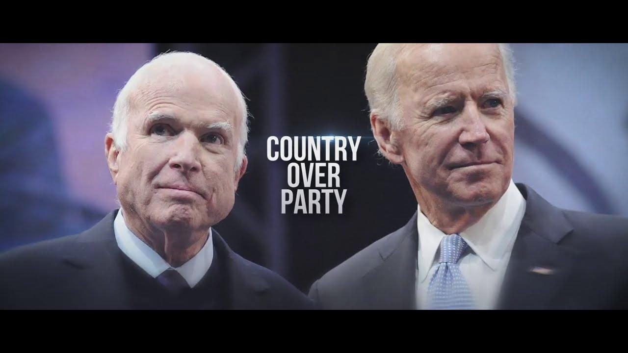 More than 100 former staffers of Sen. John McCain endorse Joe Biden