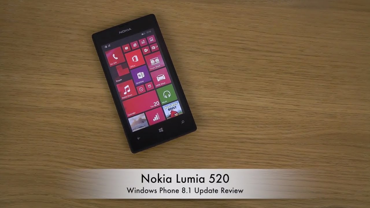 Nokia Lumia 520 - Windows Phone 8.1 Update Review