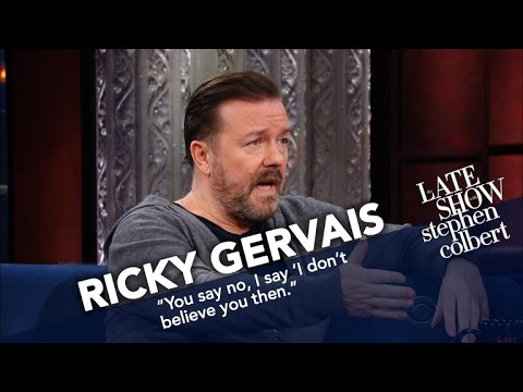 Ricky Gervais And Stephen Go Head-To-Head On Religion