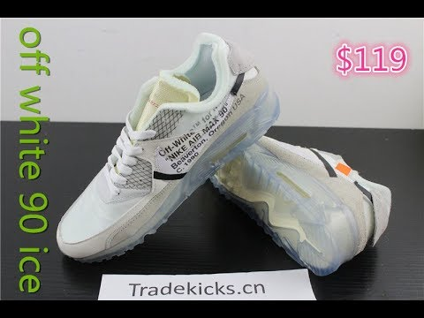 Best UA!!! NIKE x Off White Nike Air Max 90 ICE Last Version ... 93dcc92c2d0df