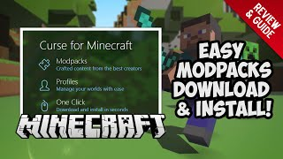 Minecraft Easiest Modpack Launcher Review Guide - Minecraft Mods
