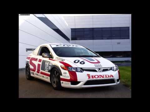 2006 Honda Civic Si Racecar Youtube