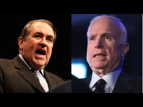 IMMEDIATELY AFTER MCCAIN SAVED OBAMACARE AGAIN MIKE HUCKABEE BLASTED HIM WITH 4 BRUTAL WORDS!