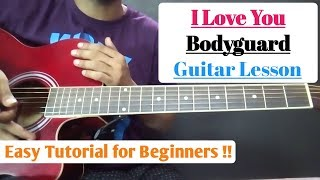 I Love You - Bodyguard Guitar Cover & Chords Lesson - Clinton Cerejo | Salman Khan - Kareena Kapoor