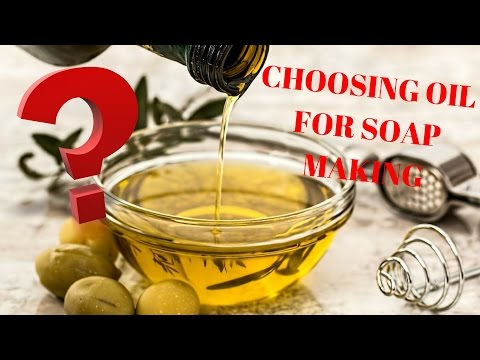 Different Oils For Making Soap- What's The Difference?