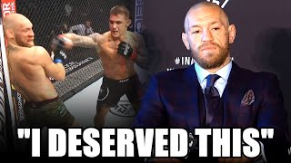NEW Conor McGregor REACTS To Dustin Poirier Fight