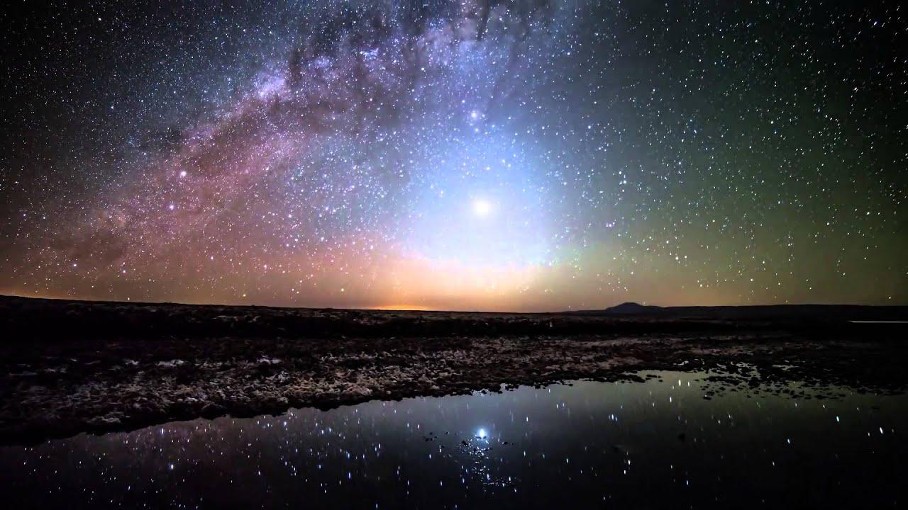 lugares del mundo para ver las estrellas Desierto de Atacama, Chile de noche