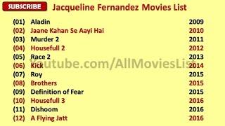 Jacqueline Fernandez Movies List