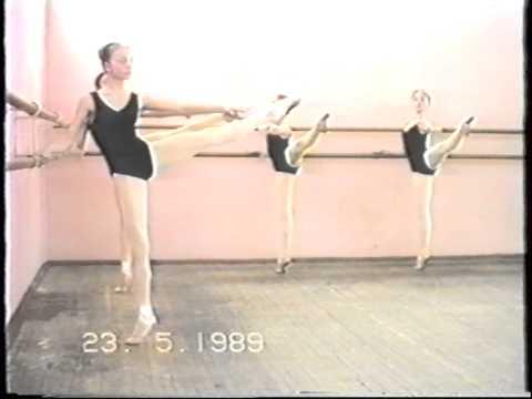 Meisjes Class: Barre, Midden, Pointe