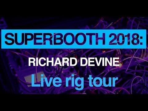 Superbooth 2018: Richard Devine live rig tour