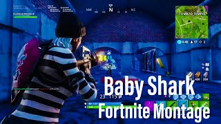 Baby Shark - Fortnite Montage