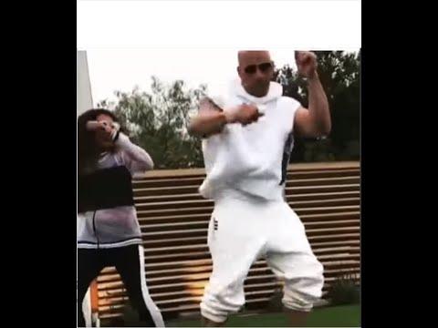 Vin Diesel dancing to African music