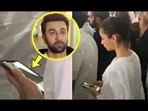 Alia Bhatt Live Video Call With Boyfriend Ranbir Kapoor At Krishna Raj Kapoor Last Rites