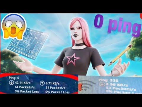 How To Get 0 ping in fortnite *NO LAG* - YouTube