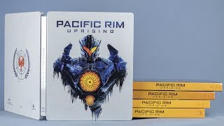 Pacific Rim Uprising: DVD, Blu-ray, and Steelbook Review
