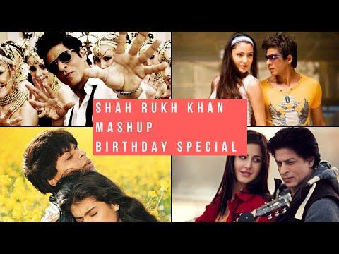 Shah Rukh Khan Mashup DJ Shadow Dubai| Birthday Special❤❤❤