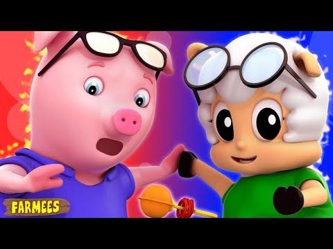 Tweedledum And Tweedledee | Nursery Rhymes For Kindergarten | Songs For Children By Farmees