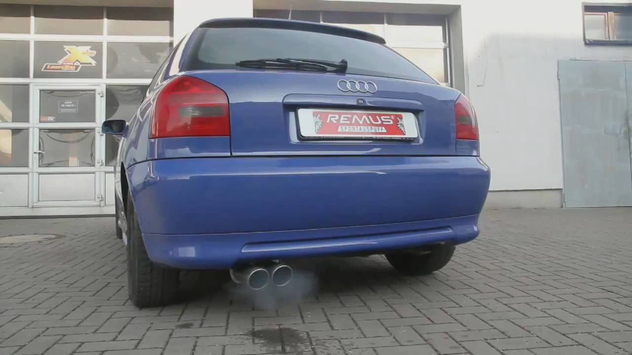 remus sportauspuff audi a3 8l soundfile by loony tuns