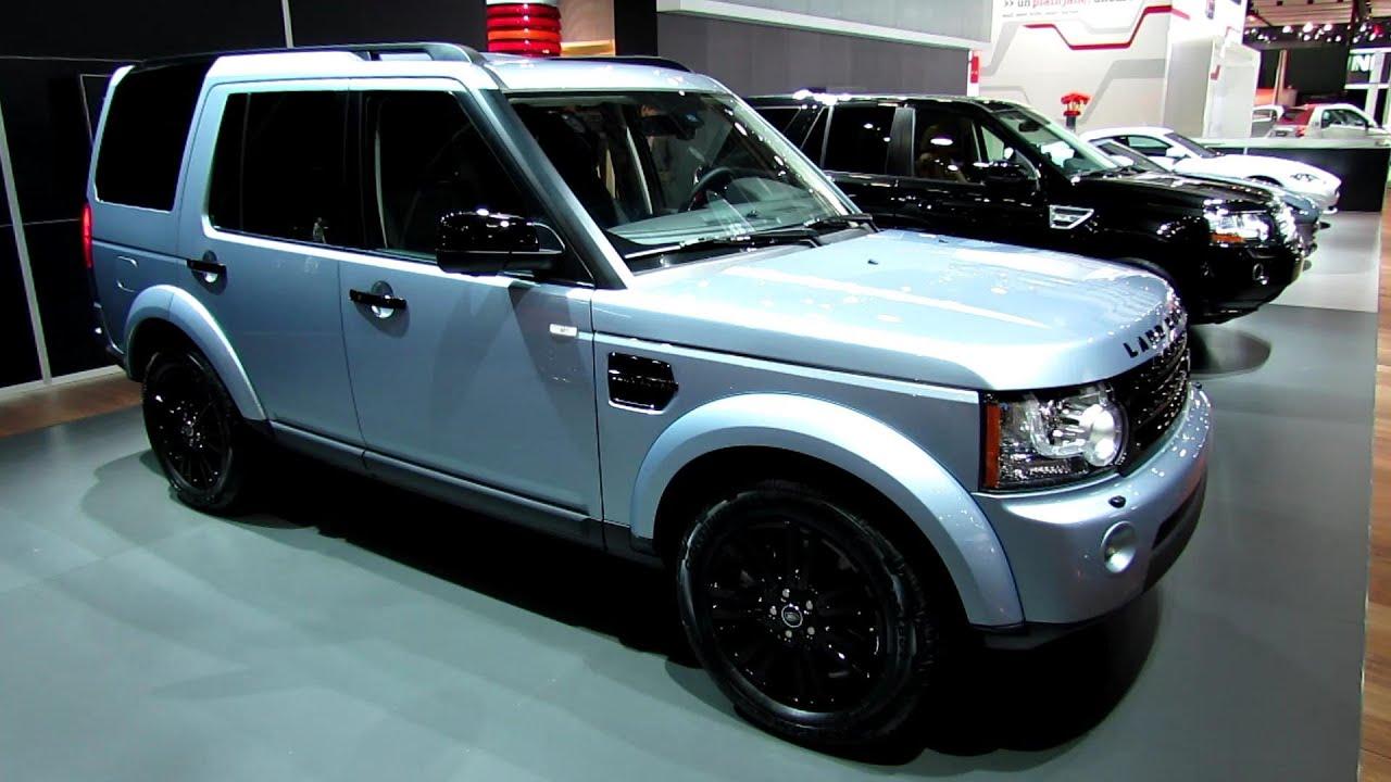 2013 land rover lr4 exterior and interior walkaround 2013 detroit auto show youtube
