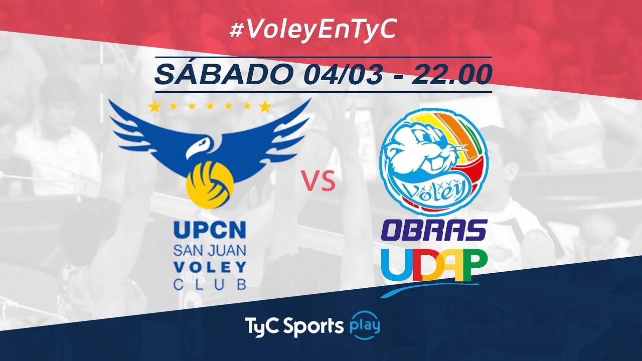 Liga Argentina: UPCN vs. Obras UDAP Voley l #VoleyEnTyC ...