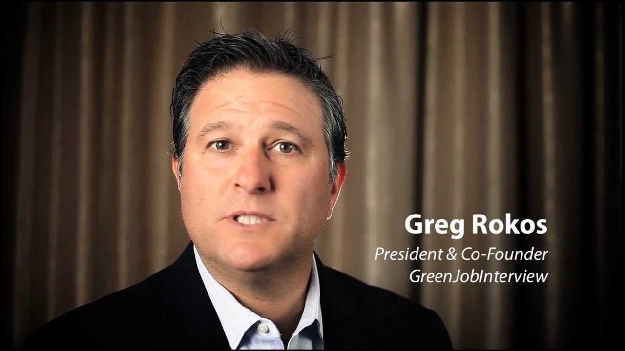 greg rokos president co founder of greenjobinterview youtube. Black Bedroom Furniture Sets. Home Design Ideas